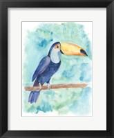Framed Sweet Tropical Bird I