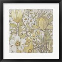 Framed Mix Floral II