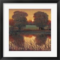 Framed Early Evening II