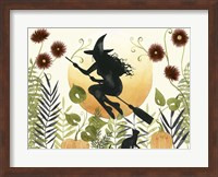 Framed Witch's Garden I