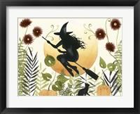 Framed Witch's Garden I