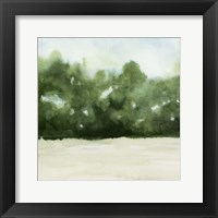 Framed Loose Landscape I