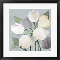 Framed French Tulips I