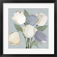 Framed French Tulips II