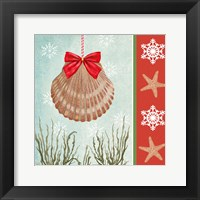 Framed Christmas Coastal I