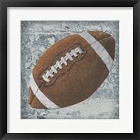 Grunge Sporting II Framed Print