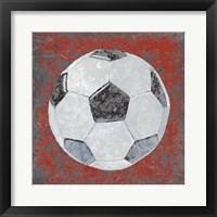 Grunge Sporting IV Framed Print