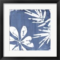 Tropical Indigo Impressions III Framed Print