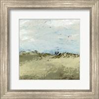 Framed Green Fields I