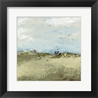 Green Fields I Framed Print