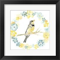 Framed Solo Songbird I