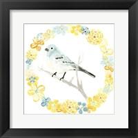 Framed Solo Songbird III