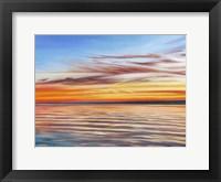 Framed Tranquil Sky I