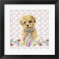 Framed Easter Pups I
