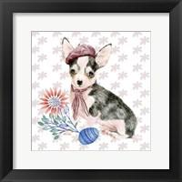 Framed Easter Pups II