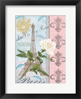 Framed La Vie en Rose I