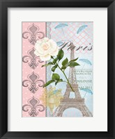 Framed La Vie en Rose II