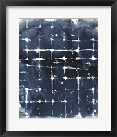 Framed Indigo Ink Motif II