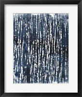 Framed Indigo Ink Motif III
