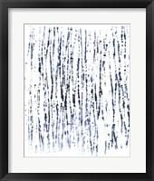 Framed Indigo Ink Motif V