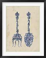 Framed Antique Utensils I