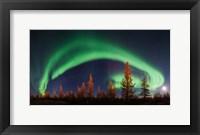 Framed Northern Lights