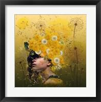 Framed Dandelions
