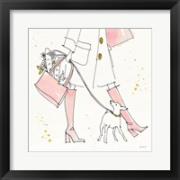Framed Fashion Feet I