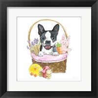 Framed Easter Pups VII
