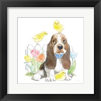 Framed Easter Pups V