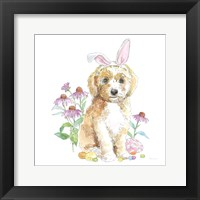 Framed Easter Pups IV
