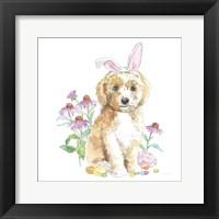Easter Pups IV Framed Print