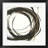 Framed Gilded Enso II