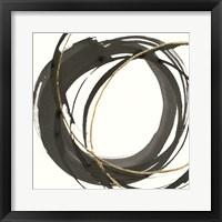 Framed Gilded Enso I