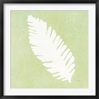 Framed Tropical Fun Palms Silhouette IV