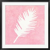 Framed Tropical Fun Palms Silhouette I