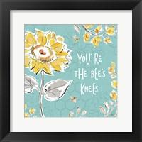 Bee Happy II Framed Print