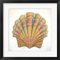 Boardwalk Scallop Framed Print