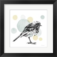 Framed Sketchbook Lodge Bird Neutral