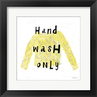 Framed Laundry Rules IV