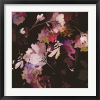 Framed Glitchy Floral IV