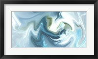 Framed Blue Lake