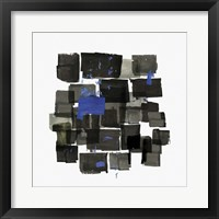Framed Black Tiles