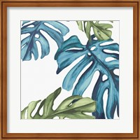 Framed Palm Leaves I