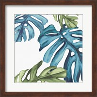 Framed Palm Leaves I