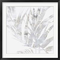 Framed Faded Leaves I