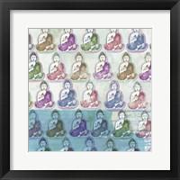 Framed Budda Print