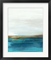 Framed Pastoral Landscape II