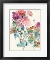 Framed Sweet Hydrangea I