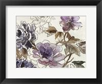 Framed Plum Floral II